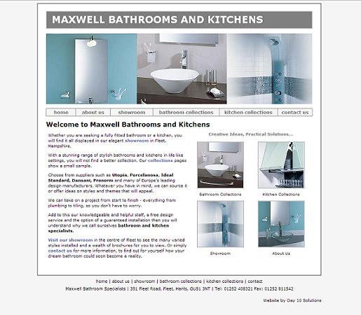 Maxwell Bathrooms Then