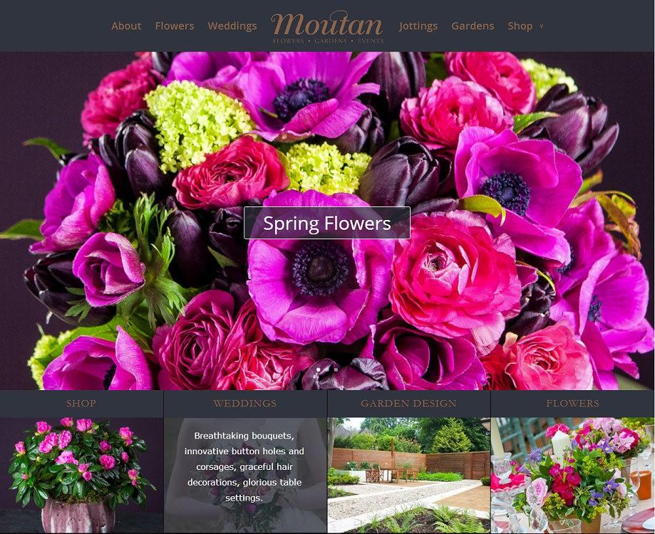 Moutan Flowers Website